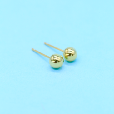 Ball Earring Stud 3 mm