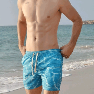Beach short Agua