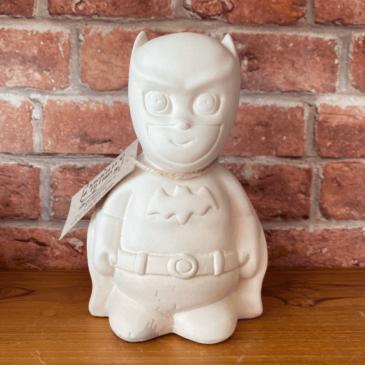 Figura de cerámica Batman
