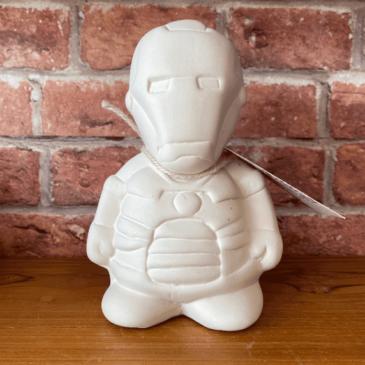 Figura de cerámica Iron man