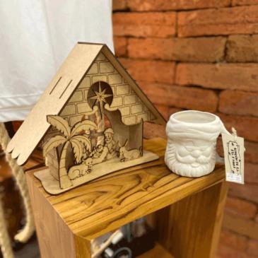Nacimiento de madera