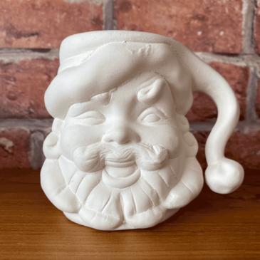 Jarros navideños de cerámica