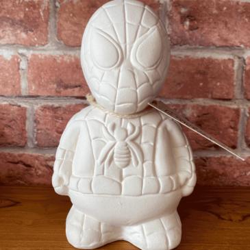 Figura de cerámica Spiderman