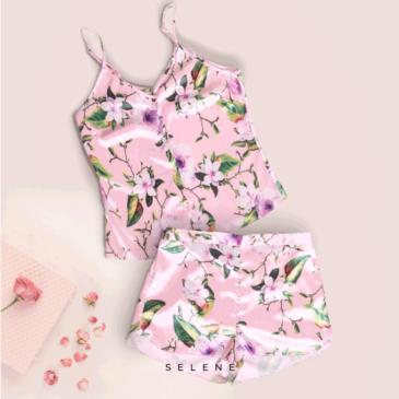Pijama short + blusa